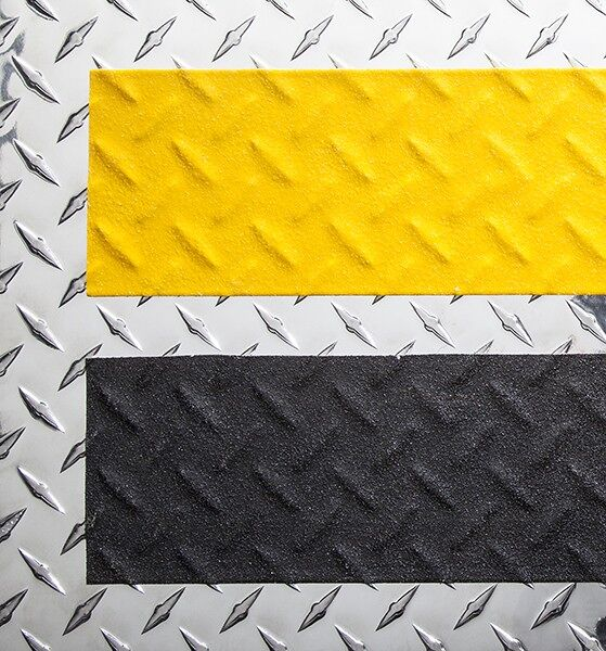 3m conformable tape Floormat.com Add anti-slip grit to irregular surfaces such as diamond plate