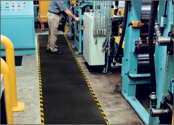 Happy Feet Linkable 1 Floormat.com Offered with textured or grip surfaces for comfort and slip resistance.