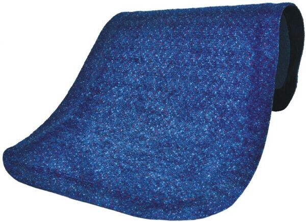 "Hog Heaven Plush 3 Floormat.com This mat is anti-static with a 100% solution dyed nylon top surface that will not fade and is slip-resistant. It comes in two sizes: 5/8"" and 7/8"". Ideal uses include concierge desk, bellman stand, copier station, registration desk and shipping desk. <ul> <li>Closed-cell Nitrile rubber cushion backing provides long-lasting comfort without breaking down</li> <li>Beveled edges and curved corners create a safer transition from mat to floor</li> <li>Designed for maximum worker comfort and striking appearance</li> </ul>"