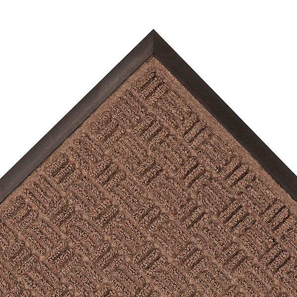 Portrait Entry Mat 2 Floormat.com Portrait features a stylish parquet pattern made with a tufted Decalon yarn that facilitates the scraping and drying process while a channel design traps moisture and debris. <ul> <li>Raised rubber border acts as a containment barrier ensuring that moisture and dirt are not carried into the home.</li> <li>Crisp non directional patterns</li> <li>Contemporary designs</li> <li>Aesthetically pleasing color choices</li> <li>The non-directional pattern design is perfect for entrance ways, lobbies, and other indoor medium to high traffic areas.</li> </ul>
