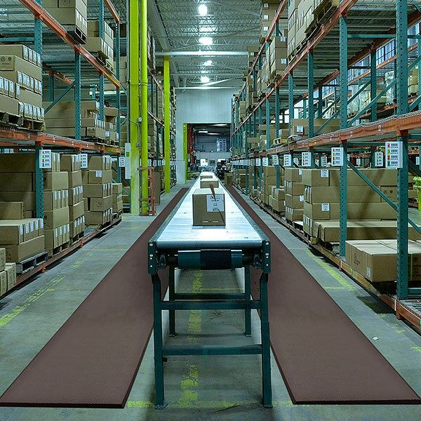 "SuperFoam 3 Floormat.com Superfoam Comfort® takes comfort and ergonomic support to the next level. It's made from a full ¾"" thick softer PVC/ Nitrile rubber foam blend that offers greater resistance to a variety of chemicals, cutting fluids, greases, oils and fats. The high-density materials in Superfoam Comfort® incorporate millions of tiny closed cells that won't absorb liquids. It's extreme comfort and lightweight make it the perfect mat for use in areas where mats are regularly moved for cleaning <ul> <li>Extra soft material for greater comfort and exceptional memory</li> <li>Made from a unique PVC/nitrile rubber foam blend that resists chemicals, greases, oils, and animal & vegetable fats</li> <li>High density material incorporates millions of tiny closed cells that won't absorb liquids</li> <li>Aggressive texture on both top and bottom for added traction while keeping mat in place</li> <li>Extremely lightweight - easy to move for cleaning</li> <li>Easy to clean with a mild degreaser and is even dishwasher safe</li> <li>All four sides are beveled to minimize trip hazards</li> <li>Available in to Versions without drainage holes 440 and with drainage holes 441</li> </ul>"