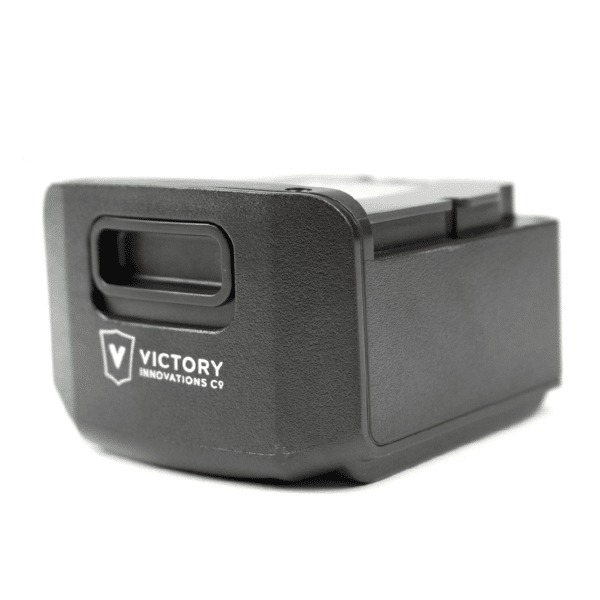 """VP20B battery 02 Floormat.com <span style=""""color: #ff0000;"""">These batteries are currently on backorder until further notice. The supplier is having undisclosed issues with their manufacturing, and we have not been given a clear date when orders will be filled. They are the sole producer of these batteries. Our customers are on the top of the fulfillment list with the supplier. We will ship all orders as soon as the manufacturer makes them available.</span> Lithium-ion battery delivers 8 hours of run time and can be recharged up to 800 times."""