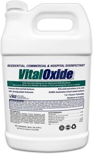 "Vital Oxide 1 Gallon Floormat.com <span style=""color: #ff0000;"">These batteries are currently on backorder until further notice. The supplier is having undisclosed issues with their manufacturing, and we have not been given a clear date when orders will be filled. They are the sole producer of these batteries. Our customers are on the top of the fulfillment list with the supplier.  We will ship all orders as soon as the manufacturer makes them available.</span> Lithium-ion battery delivers 8 hours of run time and can be recharged up to 800 times."