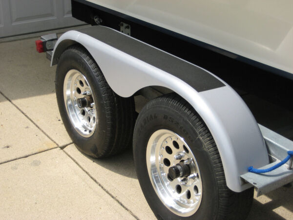 """anti slip tape trailer Floormat.com Slip-resistant tape systems improve safety on U. S. Coast Guard Cutters <ul> <li>For extreme, heavy traffic areas</li> <li>Extra-large abrasive mineral particles help provide a stable slip-resistant surface even in the presence of water or oil</li> <li>An open abrasive pattern resists clogging and reduces clean up time</li> <li>Applications: construction vehicles, ship and plane decks, trains, semi-trailers, oily wet areas, platforms and ramps, machine shops, agriculture and forestry equipment, recreational vehicles</li> </ul> <h2>Safety Walk 710 Gray Anti-slip Tape in Custom Die-cut Forms Solves Marine Slip Problem</h2> Ournew <strong>Safety Walk 710 gray/black anti-slip tape</strong> was developed to meet the demanding needs of Coast Guard ships. The tape features an aggressive, slip-resistant, larger grit surface to provide more friction in the wettest conditions. Available in tape or custom, die-cut forms, it may be applied in a variety of military, industrial, commercial, or residential applications.The new 710 series gray tape uses a larger mineral for the surface, creating more friction even in the wettest conditions. This is exactly what the Coast Guard needed. Available now for all ourcustomers, the 710 series tape comes in 24"""" X 30' rolls only. Floormat.comwill cut pieces for its customers as well as die cut pieces in both long and short runs. This versatility makes Floormat.comunique among pressure sensitive, anti slip tape suppliers.<img class=""""wp-image-14965 alignleft"""" src=""""https://www.floormat.com/wp-content/uploads/cutter2-1.gif"""" alt="""""""" width=""""384"""" height=""""119"""" />Bollinger's of New Orleans, one of the world's largest shipbuilders, had the opportunity to build 50 Coast Guard Cutters. An anti-slip surface had to be created for the entire deck of the ship. The other criteria were easy replacement of worn or damaged material without taking the ship out of service.Wewent to New Orleans to create detailed engineered drawi"""