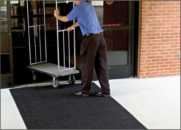 brush hog 4 Floormat.com Turf pile fabric construction filters dirt and moisture away from the mat surface. Mat has drainable borders for effective water re-distribution. Recommended for outside applications. <ul> <li>100% solution-dyed nylon face won't fade in sunlight</li> <li>Turf pile fabric construction filters dirt and moisture away from the mat surface.</li> <li>High performance solution dyed nylon face won't fade in sunlight</li> </ul>