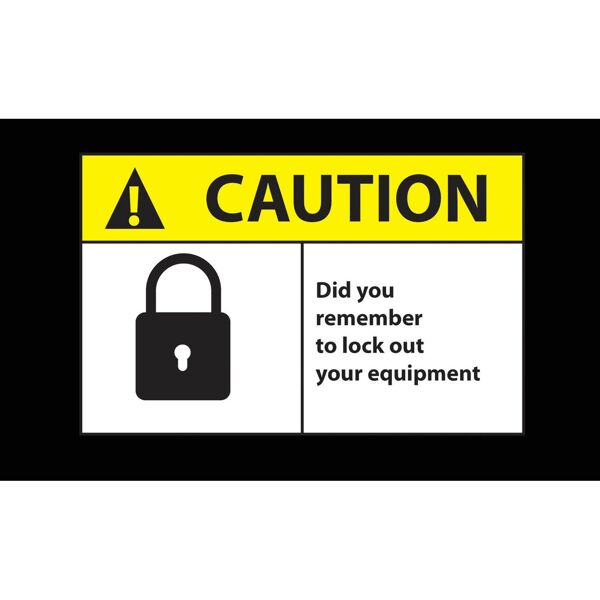 caution lock out Floormat.com Safety Message mats make your safety message loud and clear while keeping facilities cleaner and safer. Pre-printed message mats warn employees who may be entering a hazardous area, may need special ear or eye protection, or just act as a reminder to think and act safely in work environments. Pre-printed message mats offer functionality as an entrance mat cleaning dirt and moisture from shoes, keeping facilities cleaner and safer. Select messages are also available in Spanish. <ul> <li>14 pre-printed messages to choose from</li> <li>Highly visible colors and graphics for immediate identification</li> <li>24 ounce nylon top surface provides excellent moisture absorption and retention</li> <li>Heavy duty vinyl backing reduces mat movement</li> <li>Select messages also available in Spanish</li> </ul>