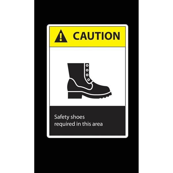 caution safety shoes Floormat.com Safety Message mats make your safety message loud and clear while keeping facilities cleaner and safer. Pre-printed message mats warn employees who may be entering a hazardous area, may need special ear or eye protection, or just act as a reminder to think and act safely in work environments. Pre-printed message mats offer functionality as an entrance mat cleaning dirt and moisture from shoes, keeping facilities cleaner and safer. Select messages are also available in Spanish. <ul> <li>14 pre-printed messages to choose from</li> <li>Highly visible colors and graphics for immediate identification</li> <li>24 ounce nylon top surface provides excellent moisture absorption and retention</li> <li>Heavy duty vinyl backing reduces mat movement</li> <li>Select messages also available in Spanish</li> </ul>