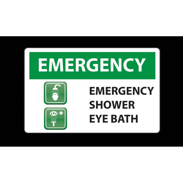 emergency shower Floormat.com Safety Message mats make your safety message loud and clear while keeping facilities cleaner and safer. Pre-printed message mats warn employees who may be entering a hazardous area, may need special ear or eye protection, or just act as a reminder to think and act safely in work environments. Pre-printed message mats offer functionality as an entrance mat cleaning dirt and moisture from shoes, keeping facilities cleaner and safer. Select messages are also available in Spanish. <ul> <li>14 pre-printed messages to choose from</li> <li>Highly visible colors and graphics for immediate identification</li> <li>24 ounce nylon top surface provides excellent moisture absorption and retention</li> <li>Heavy duty vinyl backing reduces mat movement</li> <li>Select messages also available in Spanish</li> </ul>