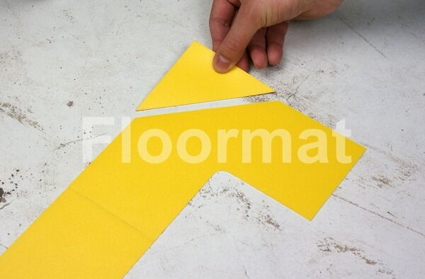 end cap 100 1 Floormat.com Floormat.com warehouse markers are durable, self-adhesive signs constructed from industrial grade plastic. Intended for use in factory warehouses and buildings where restrictions and safety notifications need to be highlighted.