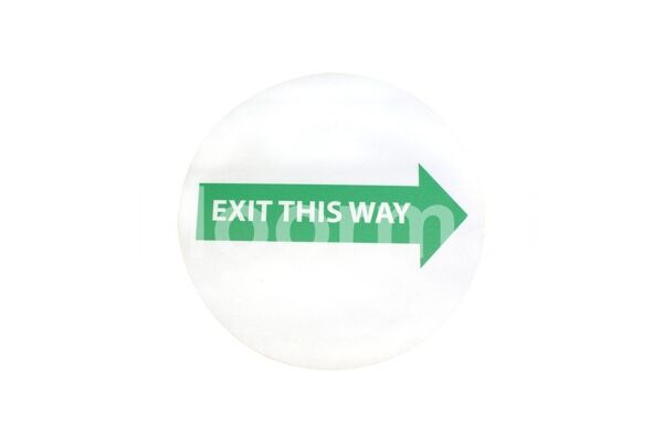 fm04 exit this way sign day Floormat.com Floormat.com warehouse signs are durable, self-adhesive signs constructed from industrial grade plastic. Intended for use in factory warehouses and buildings where restrictions and safety notifications need to be highlighted.