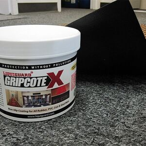 "gripcote Floormat.com This indoor/outdoor entrance scraper mat is made of a 24 oz.sq/yd Polypropylene fiber system that dries quickly and won't fade or rot. <ul> <li>3/8"" thick bi-level surface effectively removes dirt and moisture beneath shoe level</li> <li>Rubber reinforced face nubs prevent pile from crushing extending performance life of product</li> <li>Unique ""Water Dam"" and ridged construction effectively holds dirt & moisture between cleaning</li> </ul>"