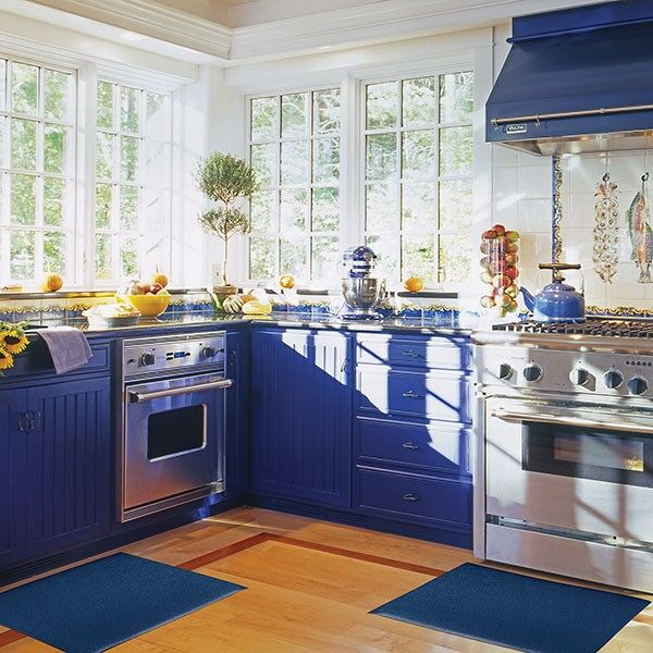 kitchen comfort 2 1 Floormat.com The Accent Mat provides anti-fatigue support while working in the kitchen or any area in the home. Beveled edges provide safety from tripping. Easy to sweep or wipe clean 100% PVC vinyl construction. On Sale for $17.99 in checkout. <ul> <li>Adds a splash of color and can be matched with other home textiles by using one of the stock colors or creating a custom color.</li> <li>Stays in place</li> <li>Beveled edges provide safety from tripping</li> <li>Overall Thickness: 3/8 inch</li> </ul> Accent mats provide ergonomic support while working in any area of the home. Cushioning PVC Sponge construction relieves leg and back discomfort, common when standing for long periods of time.