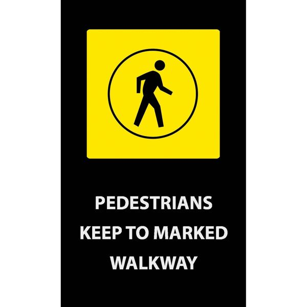 pedestrians keep Floormat.com Safety Message mats make your safety message loud and clear while keeping facilities cleaner and safer. Pre-printed message mats warn employees who may be entering a hazardous area, may need special ear or eye protection, or just act as a reminder to think and act safely in work environments. Pre-printed message mats offer functionality as an entrance mat cleaning dirt and moisture from shoes, keeping facilities cleaner and safer. Select messages are also available in Spanish. <ul> <li>14 pre-printed messages to choose from</li> <li>Highly visible colors and graphics for immediate identification</li> <li>24 ounce nylon top surface provides excellent moisture absorption and retention</li> <li>Heavy duty vinyl backing reduces mat movement</li> <li>Select messages also available in Spanish</li> </ul>