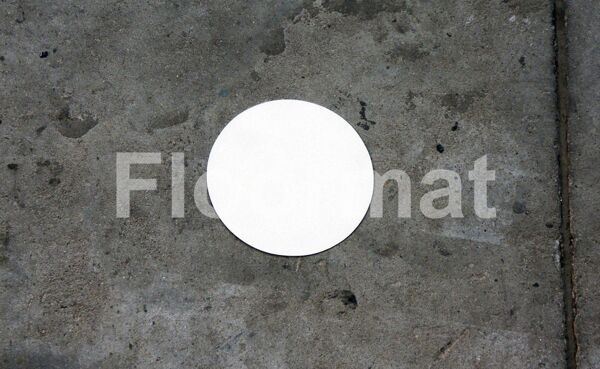 permaroute circle Floormat.com Floormat.com warehouse markers are durable, self-adhesive signs constructed from industrial grade plastic. Intended for use in factory warehouses and buildings where restrictions and safety notifications need to be highlighted.