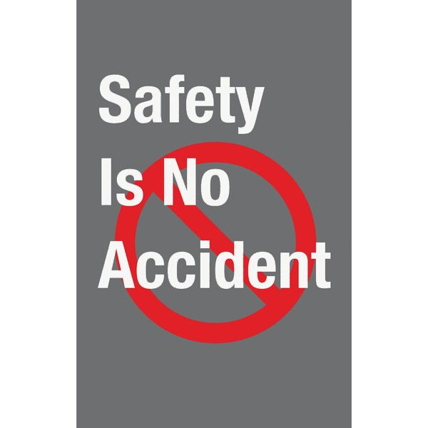 safety no accident Floormat.com Safety Message mats make your safety message loud and clear while keeping facilities cleaner and safer. Pre-printed message mats warn employees who may be entering a hazardous area, may need special ear or eye protection, or just act as a reminder to think and act safely in work environments. Pre-printed message mats offer functionality as an entrance mat cleaning dirt and moisture from shoes, keeping facilities cleaner and safer. Select messages are also available in Spanish. <ul> <li>14 pre-printed messages to choose from</li> <li>Highly visible colors and graphics for immediate identification</li> <li>24 ounce nylon top surface provides excellent moisture absorption and retention</li> <li>Heavy duty vinyl backing reduces mat movement</li> <li>Select messages also available in Spanish</li> </ul>