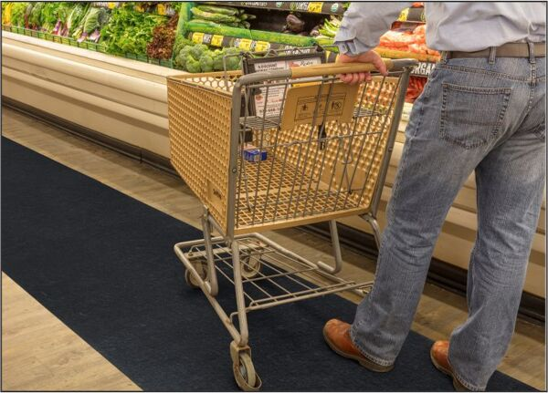 sure stride 2 Floormat.com This high traction mat surface provides a safe walking surface with its Tacki Back adhesive system that keeps it flat and in place. Very low profile with a moisture barrier that keeps liquids from seeping through to the floor. Disposable matting with a 3-month life span under normal usage. <ul> <li>3' X 100' Rolls</li> <li>Rated high traffic matting by the National Floor Safety Institute</li> <li>Knife and cutting board included with every roll</li> <li>Tacki Back adhesive ensures full bond with hard surface for 90 days</li> </ul>
