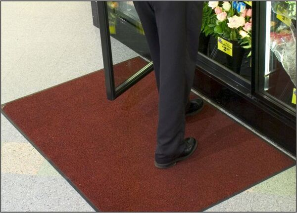trigrip 1 Floormat.com Tufted nylon-on-rubber mats for high-traffic areas