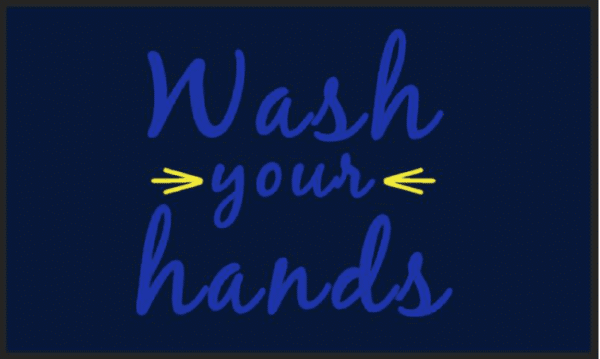 mat wash hands