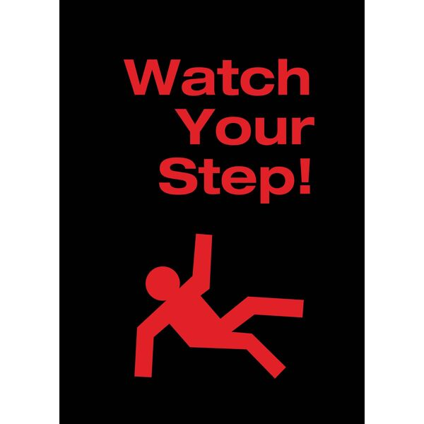 watch step Floormat.com Safety Message mats make your safety message loud and clear while keeping facilities cleaner and safer. Pre-printed message mats warn employees who may be entering a hazardous area, may need special ear or eye protection, or just act as a reminder to think and act safely in work environments. Pre-printed message mats offer functionality as an entrance mat cleaning dirt and moisture from shoes, keeping facilities cleaner and safer. Select messages are also available in Spanish. <ul> <li>14 pre-printed messages to choose from</li> <li>Highly visible colors and graphics for immediate identification</li> <li>24 ounce nylon top surface provides excellent moisture absorption and retention</li> <li>Heavy duty vinyl backing reduces mat movement</li> <li>Select messages also available in Spanish</li> </ul>