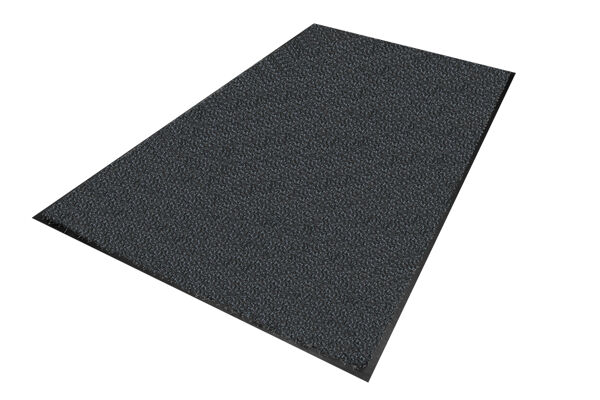 """Classic Brush isolated whole mat Onyx website Floormat.com Aggressive indoor wiper mats offer maximum soil stopping power. Formerly the """"Colorstar Crunch"""" mat."""