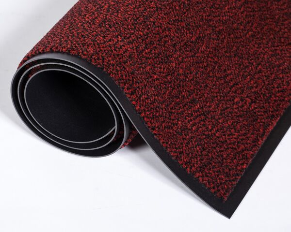 Dust Star 3 red Floormat.com The most efficient and innovative wiper there is, Dust-Star™ contributes to improving the air quality and cleanliness of your facility! Preventive solution that will keep dirt from spreading onto your floors. Ensures better air quality than any other known entrance mats. <ul> <li>Unique microfiber/olefin blend with incredible dust retention properties</li> <li>Positively charged microfibers will attract hair, lint, dust and keep them from polluting the air</li> <li>Holds close to three times more liquid than our standard Rely-On™ Olefin wiper</li> <li>Perfect for Universities, Airports, Hospitals, Large Retail Stores, Shopping Malls, an Schools.</li> </ul>