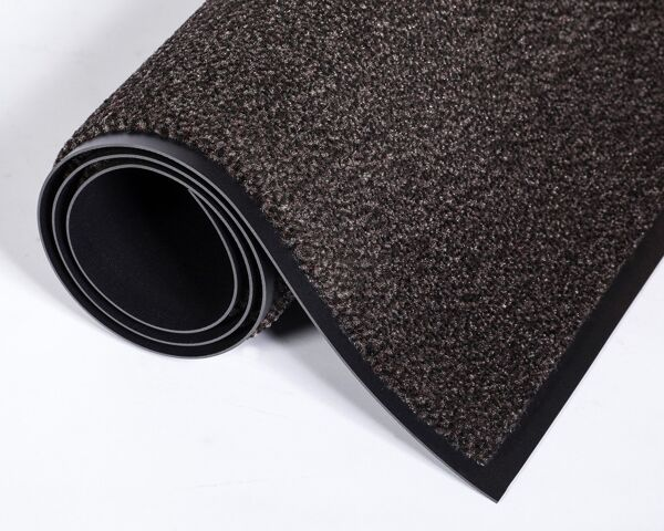 Dust Star 3 walnut Floormat.com The most efficient and innovative wiper there is, Dust-Star™ contributes to improving the air quality and cleanliness of your facility! Preventive solution that will keep dirt from spreading onto your floors. Ensures better air quality than any other known entrance mats. <ul> <li>Unique microfiber/olefin blend with incredible dust retention properties</li> <li>Positively charged microfibers will attract hair, lint, dust and keep them from polluting the air</li> <li>Holds close to three times more liquid than our standard Rely-On™ Olefin wiper</li> <li>Perfect for Universities, Airports, Hospitals, Large Retail Stores, Shopping Malls, an Schools.</li> </ul>