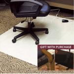 Heated Chair Mat Floormat.com