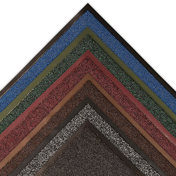 Opera 1 Floormat.com Opera™ combines 3 functional mats into 1 mat design. Zone 1 - A looped non-absorbent yarn to scrape debris and moisture from foot traffic. Zone 2 - Combines looped scraper yarns with absorbent Decalon™ looped pile to begin the drying process. Zone 3 - Pure Decalon™ looped pile to complete the drying function. All yarns are color-coordinated to combine beauty and functionality and is prefectly suited for all large upscale entrances including offices, hotels and professional office buildings. <ul> <li>All yarns are color-coordinated to combine beauty with functionality</li> <li>Dense combination of scraping and absorbent yarns ensure maximum performance</li> <li>3/8 inch overall thickness for use in narrow clearance doorways</li> <li>Vinyl backing helps reduce mat movement</li> </ul>