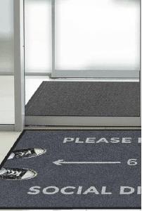 Social Distancing Floormats