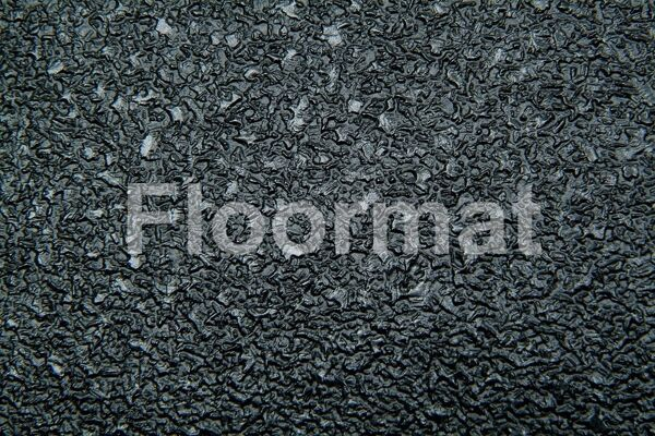 black aqua safe close up Floormat.com Ideal for showers, boats, kitchens and labs