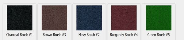 brush hog colors Floormat.com Turf pile fabric construction filters dirt and moisture away from the mat surface. Mat has drainable borders for effective water re-distribution. Recommended for outside applications. <ul> <li>100% solution-dyed nylon face won't fade in sunlight</li> <li>Turf pile fabric construction filters dirt and moisture away from the mat surface.</li> <li>High performance solution dyed nylon face won't fade in sunlight</li> </ul>