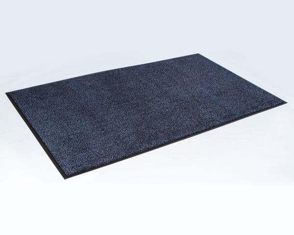 ecoPlus rubber border 2 Floormat.com EcoPlus™ is our green generation recycled wiper/scraper mat that delivers excellent performance in heavy traffic areas. Offers a green mat alternative that can contribute to obtaining LEED credits. As a performance wiper/scraper mat, this product prevents debris from traveling into the building. A nubbacking design helps provide stability to the mat and eliminates curling. <ul> <li>Available in both fabric and rubber edging</li> <li>Crush-proof V-pattern will maintain appearance and performance</li> <li>Elevated construction will scrape shoes and hold dirt beneath shoe level, while wiping moisture</li> <li>Special sizes are available in all even foot increments in 3′, 4′, and 6′ widths, up to 20′ in length. Mats are manufactured to a tolerance of up to 3 percent, compared to the exact size listed.</li> </ul> For interior areas with heavy traffic areas. e.g.: Universities, Airports, Hospitals, Large Retail Stores, Shopping Malls and Schools.