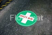 first aid sign day Floormat.com