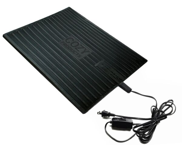 foot warmer 3 Floormat.com This is our Best-Selling Foot Warmer™ heated mat warms up to an intense 150°F while using the same electricity as a light bulb! Safe and economical – using one tenth the energy of dangerous space heaters. <ul> <li>It powers on just 120 watts; 92% less than a standard 1,500 watt space heater</li> <li>TUV Listed - meeting strict safety standards</li> <li>Warms feet directly through shoes or boots</li> <li>Perfect for under desks & standing workstations</li> <li>May be used to melt snow from boots, leaving them warm & dry</li> </ul> The Super Foot Warmer™ is a heated mat that warms up to an intense 150°F while using only a little more electricity as a standard light bulb! From doorways to under the desk, the Super Foot Warmer provides the needed warmth to keep others comfortable & content.