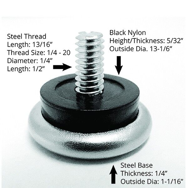 glide table NL Floormat.com Machine Screw Non-Swivel Steel Base Glide. <ul> <li>Eliminates carpet from being torn from chair legs that are missing glides</li> <li>Sold in packs of 24 each</li> <li>Easy to install</li> </ul>