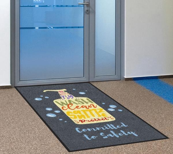 floor mat clean