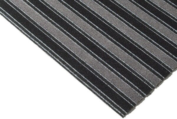 legacy 1 Floormat.com Patented hybrid product installs like a carpet and performs like a foot grille. Can be cut to measure in any direction without fraying. <ul> <li>Combines top-of-the-line fibers that both scrape dirt and absorb moisture. Inserts integrate with a variety of design schemes</li> <li>Polypropylene Base Grid and Premium Polyamide Nylon Fibers (6.6) with 5.63% post consumer recycled content</li> <li>High Density Anti-Slip Rubber backing</li> </ul>