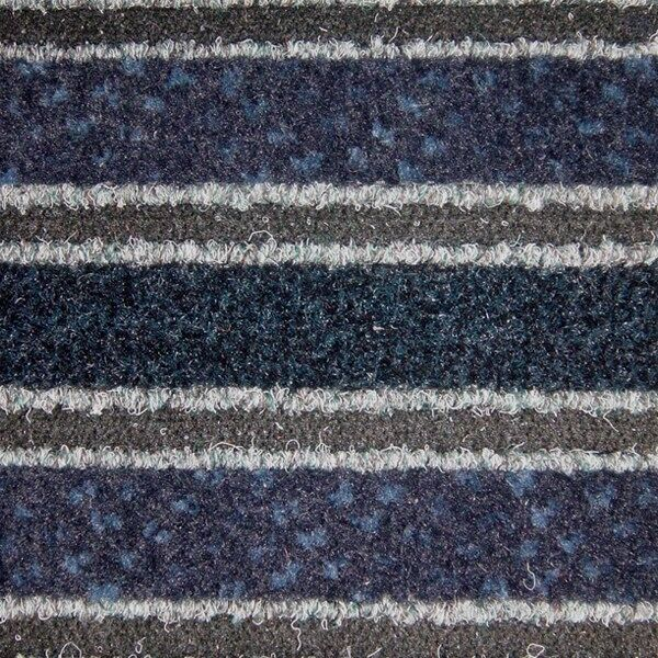 legacy blue Floormat.com Patented hybrid product installs like a carpet and performs like a foot grille. Can be cut to measure in any direction without fraying. <ul> <li>Combines top-of-the-line fibers that both scrape dirt and absorb moisture. Inserts integrate with a variety of design schemes</li> <li>Polypropylene Base Grid and Premium Polyamide Nylon Fibers (6.6) with 5.63% post consumer recycled content</li> <li>High Density Anti-Slip Rubber backing</li> </ul>