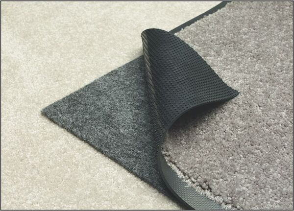 """magna grip 1 Floormat.com This product will keep your mats from """"walking away"""" or moving. This product is intended to only be used with cleated backed mats. <ul> <li>Can be utilized on all floor surfaces to prevent mats from moving during normal use</li> <li>Magna Grip's adhesive bonds with the carpet, keeping it in place if mats are removed to clean orchanged out</li> <li>Not recommended for use with cart traffic</li> <li> For 3""""X5"""", 4""""X6"""" Indoor Mats</li> </ul>"""