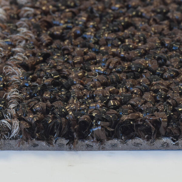 opera 2 Floormat.com Opera™ combines 3 functional mats into 1 mat design. Zone 1 - A looped non-absorbent yarn to scrape debris and moisture from foot traffic. Zone 2 - Combines looped scraper yarns with absorbent Decalon™ looped pile to begin the drying process. Zone 3 - Pure Decalon™ looped pile to complete the drying function. All yarns are color-coordinated to combine beauty and functionality and is prefectly suited for all large upscale entrances including offices, hotels and professional office buildings. <ul> <li>All yarns are color-coordinated to combine beauty with functionality</li> <li>Dense combination of scraping and absorbent yarns ensure maximum performance</li> <li>3/8 inch overall thickness for use in narrow clearance doorways</li> <li>Vinyl backing helps reduce mat movement</li> </ul>