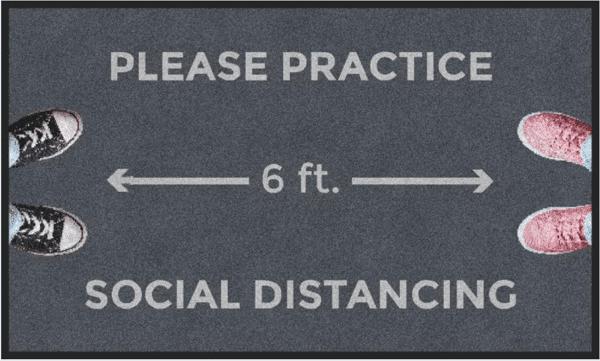 mat social distance