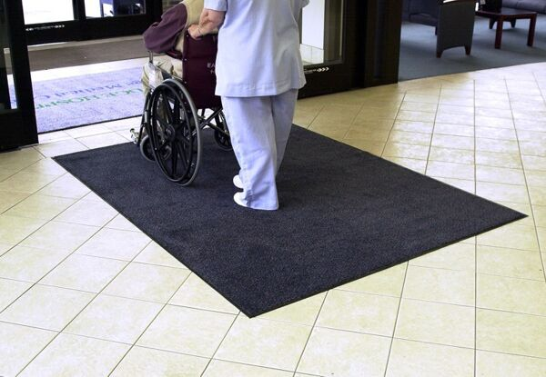 trigrip 3 Floormat.com Tufted nylon-on-rubber mats for high-traffic areas
