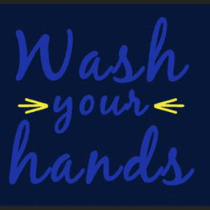 mat wash hands
