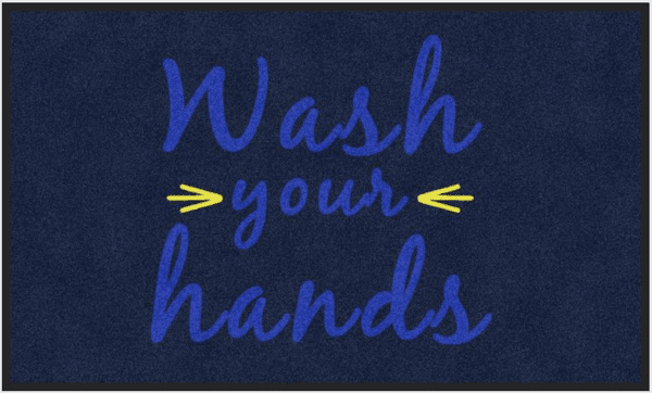 floor wash hands
