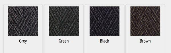 waterhog diamondcord colors 1 Floormat.com Interior scraper-wiper entrance mats for medium traffic areas