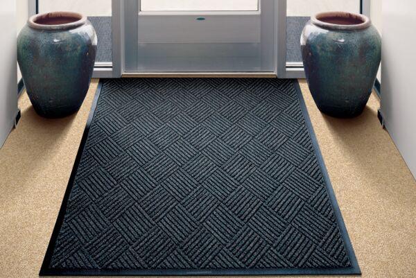 waterhogdiamond Floormat.com Interior scraper-wiper entrance mats for medium traffic areas